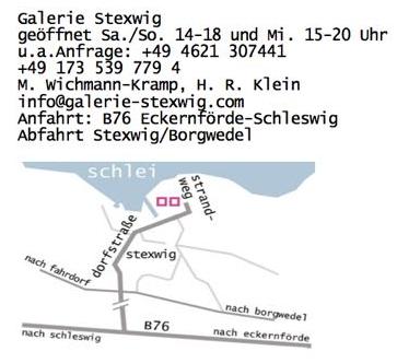 Kontaktdaten Galerie Stexwig