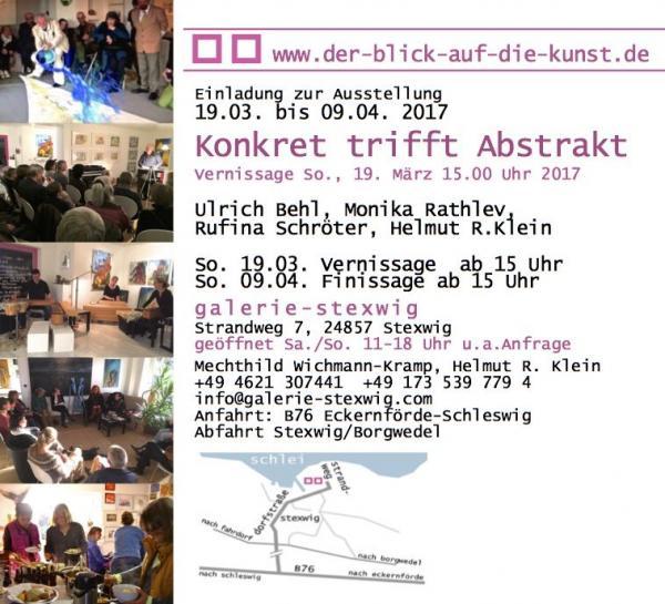 Galerie Stexwig, Konkret trifft Abstrakt, Daten