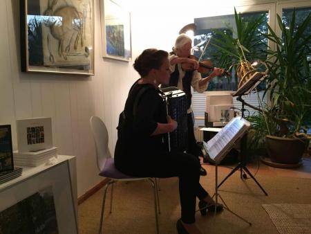 Duo Herzdame, Galerie Stexwig