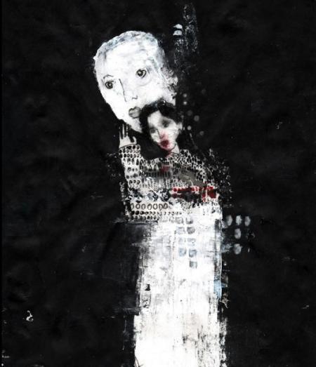 Farah Willem, fantolune, 2015-2016, Mischtechnik auf Reispapier, 30x22cm, 845,-€, Galerie Stexwig