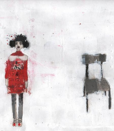 Farah Willem, en outre in en sera toujours ainsi, ferner wird es immer so sein, Mischtechnik auf Reispapier, 46x32cm, 1.150,-€, Galerie Stexwig