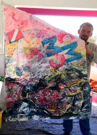 Focksegel-Malerei 4