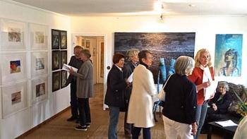 Besucher der Galerie Stexwig