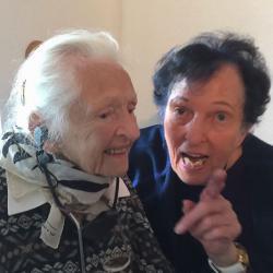 Minka Zimmermann + Doris Rüstig-Ladewig in der Galerie Stexwig
