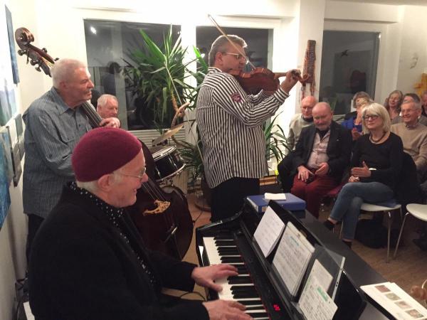 Galerie Stexwig, Konzert mit Martin Weiss