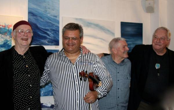 Martin Weiss und die Jazz Romances in der Galerie Stexwig