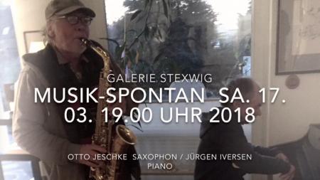Musik spontan, Galerie Stexwig