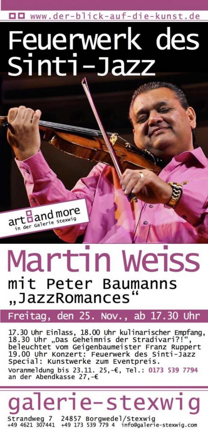 Martin Weiss in der Galerie Stexwig