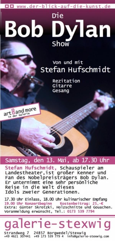 Stefan Hufschmidt in der Galerie Stexwig