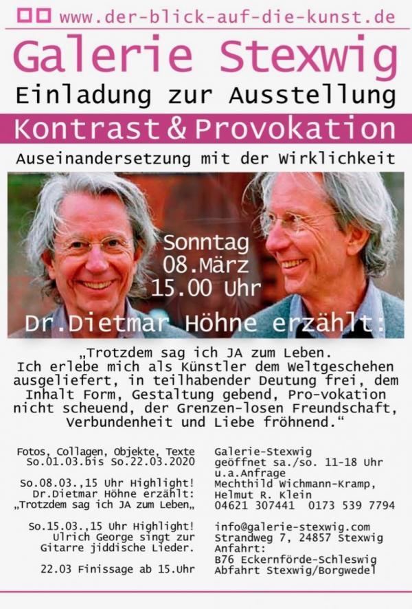 Vortrag Dr. Dietmar Höhne in Galerie Stexwig