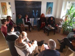galerie-stexwig_Gespräch mit Doris Rüstig-Ladewig