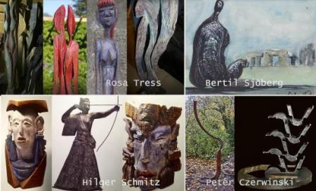 3D-2D Ausstellung Galerie Stexwig